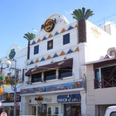 Hard Rock Cafe Cozumel. Smallest in Hard Rock...visited when I earned my 1st Soar trip with Silpada 2010!