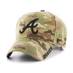 the best attitude bf37d 3a595 Amazon.com   MLB Atlanta Braves Myers MVP Hat, One Size, Multicam