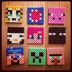 Minecraft hama beads by sonia2011