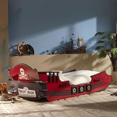 Pirate bed.  http://www.worldstores.co.uk/p/Crazy_Shark_Pirate_Bed.htm