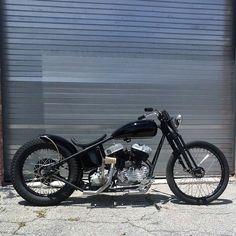 1946 Harley UL Flathead #flathead #harleyul #harleyflathead #Harleychopper #Harleybobber #Chopper #bobber #customharley #custommotorcycle #sidevalve #chopperswapper #forsale