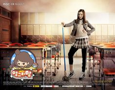 Angry Mom - When Jo Gang Ja attended high school, she was notorious for fighting. She gave birth to her daughter Ah Ran in her late teens and became more responsible. Her daughter Ah Ran is now a high school student, but Ah Ran is bullied at school. Jo Gang Ja decides to go back to high school to protect her daughter. Jo Gang Ja becomes a high school student again.