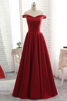Bridesmaid Dress Simple, Prom Dress For Cheap, Prom Dresses 2019, Red Prom Dress #Prom #Dresses #2019 #Bridesmaid #Dress #Simple #For #Cheap #Red #RedPromDress #PromDressForCheap #PromDresses2019 #BridesmaidDressSimple