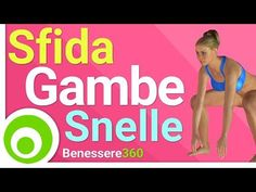 Sfida Gambe Snelle: I Migliori Esercizi per Dimagrire e Tonificare le Gambe - YouTube Pilates Video, Pilates Workout, Hiit, Exercise, Yoga Fitness, Fitness Tips, Health Fitness, Keep Fit, At Home Gym