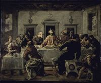 エル・グレコ「最後の晩餐」の写真素材 [ygib002951] - アフロ