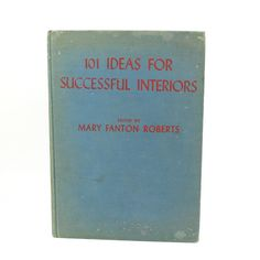 1930's 101 Ideas For Interiors