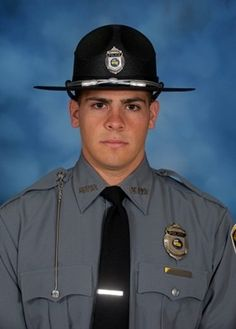 Patrolman Nickolaus Schultz succumbed to gunshot wounds sustained two days earlier while investigating reports of an evicted tenant moving back. Officer Down, Police Officer Shot, Blue Matter, Firefighter Apparel, Police Lives Matter, Police Life, National Police, Real Hero, State Police