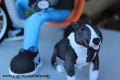 www.unpocodetodo.org - Fofucho de Dani en su triker - Fofuchas - Goma eva - crafts - custom - customized - dog - drift - foami - foamy - manualidades - perro - personalizado - trike - triker - 12
