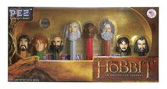 The Hobbit Gift Set Pez Dispensers