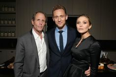 "I Saw The Light Film on Twitter: ""#TomHiddleston and #ElizabethOlsen with #MarcAbraham after party for #ISawTheLight http://t.co/9I2hjtzVYf"""