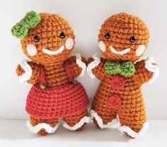 Make this cute gingerbread boy and girl with Vanna's Choice!