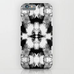 Tie Dye Blacks iPhone & iPod Case