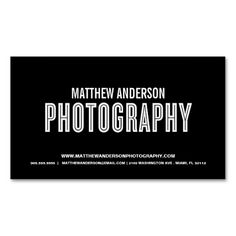 RETRO | PHOTOGRAPHY BUSINESS CARD. This is a fully customizable business card and available on several paper types for your needs. You can upload your own image or use the image as is. Just click this template to get started!
