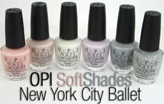 Sneak Peek: OPI SoftShades New York City Ballet Collection for Spring 2012 | Beauty Junkies Unite