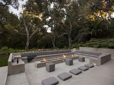 Patio With Fire Pit | coolhouses.frontdoor.com