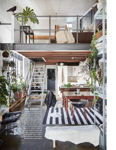 15 Amazing Interior Design Ideas for Modern Loft – Futurist Architecture Interior Design Minimalist, Loft Interior Design, Loft Design, Interior Architecture, Modern Design, Design Bedroom, Design Design, Loft Interiors, Industrial Interiors
