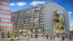 Market Hall is one of the key building projects being realised in the Netherlands at this moment. Provast developed the first covered food market of the Portal, A As Architecture, Rotterdam, Colorful Fruit, Arno, Bruges, Antwerp, Square Feet, Fair Grounds