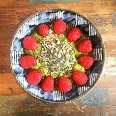 Matcha superfood porridge #japaneasy #matcha