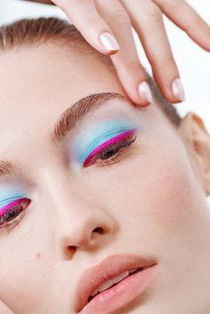 Grace Elizabeth at Oscar de la Renta / The NYFW Beauty Roundup: Edition Makeup Trends, Makeup Inspo, Beauty Trends, Makeup Ideas, Runway Makeup, Beauty Makeup, Eye Makeup, Daily Makeup, Crazy Makeup