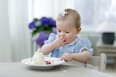 Princess Estelle of Sweden on her first birthday | The Royal Hats Blog