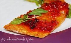Complicaciones las justas: Pizza de sobrasada y miel