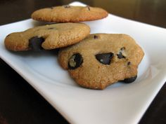 Paleo Chocolate Chip Cookie Recipe. this person tested SEVERAL recipes and arrived at this one, so i'm betting it's pretty darn good.