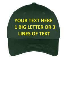 Plumber s Cap Hat Custom Personalized Embroidered Embroidery Text CP80   fashion  clothing  shoes  accessories  mensaccessories  hats (ebay link) 1c37339e90e2