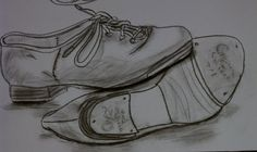 Tap Shoes - Done in Conte