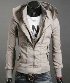 A beautifully made man-jacket should be worn by girls too