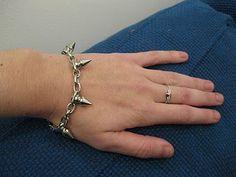 #DIY spike stud bracelet