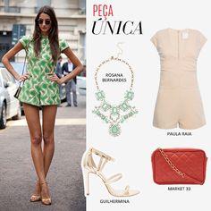 Compre moda com conteúdo, www.oqvestir.com.br #Fashion #Summer #Overalls  #Macacão #Party #Shop