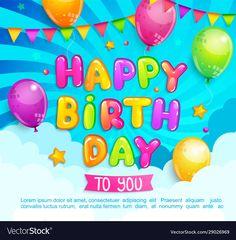 Invitation Flyer, Invitations, Happy Birthday Greetings, Banner Vector, Baby Shark, Flyers, Adobe Illustrator, Vector Free, Balloons