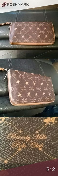 Beverly Hills Polo Club Large Wristlet Wallet This wristlet is perfectly sized to carry all of your important items.. credit cards, money, bills, change, and much more. Measures 6 deep by 10 wide. Traditional Polo Club Design. A must have to add to your collection. Thank you for shopping with Boutique Treasures ?? Carla Beverly Hills Polo Club Bags Clutches & Wristlets