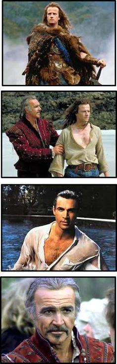 Highlander - Adrian Paul ... definitely!