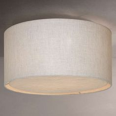 Pasteri led white fabric flush ceiling light lighting pinterest buyjohn lewis samantha linen flush ceiling light natural dia 40cm online at johnlewis aloadofball Choice Image