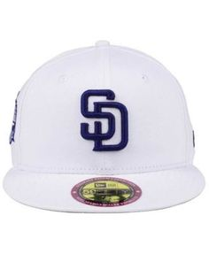 New Era San Diego Padres The Ultimate Patch Collection Stadium 59FIFTY Cap - White 7 1/8