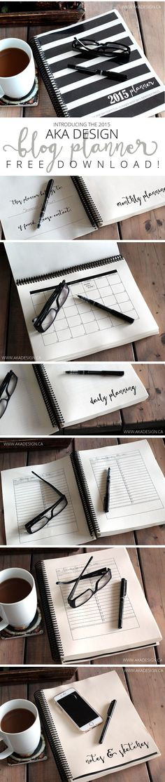 Blog Planner and Editorial Calendar (FREE PRINTABLE)