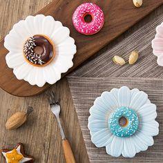 Margarida prato molho prato de cerâmica placa de mesa em casa criativo lanche molho prato em Favores Do partido de Home & Garden no AliExpress.com | Alibaba Group
