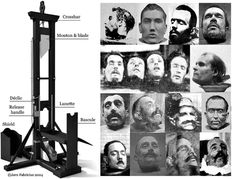 guillotine Guillotine Execution, Macrame Wall Hanger, Crime, Horrible Histories, Dark Images, French Revolution, History Facts, World History, Wild West
