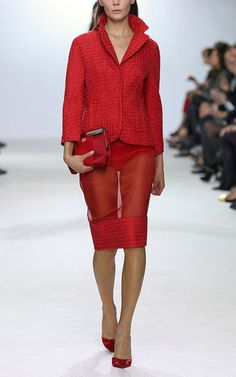 I love this Giambattista Valli skirt but can't think of where you'd wear it!