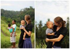 the sling diaries: rachel and family babywearing beauty! #sakurabloom