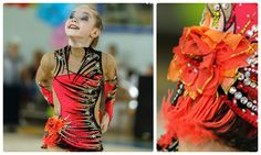Rhythmic gymnastics leotard (photo by Evgeny Kondakov)