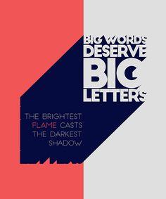 Big John / Slim Joe May the Font be with you 21 – Ribbon, Nexa Rust Free, Big John / Slim Joe, Via Sans