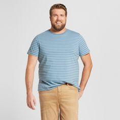 Men's Crew Neck Short Sleeve T Shirt Verona Blue XL Tall - Mossimo Supply Co.