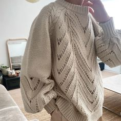 Knit Crochet, Pullover, Knitting, Sweaters, Design, Style, Fashion, Tejidos, Swag
