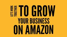 Learn how you can sell your products on Amazon.