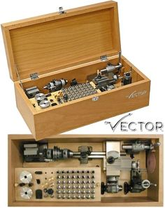 Watchmaker lathe Vector 48