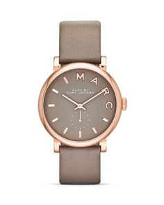 MARC BY MARC JACOBS Baker Strap Watch, 36.5mm | Bloomingdale's