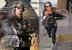 Peter Maximoff aka Quicksilver Costume for X-men Days of Future Past Movie
