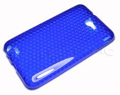 Dark Blue Diamond TPU Gel skin case for Samsung Galaxy Note
